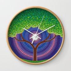 Happy Tree of Life Wall Clock