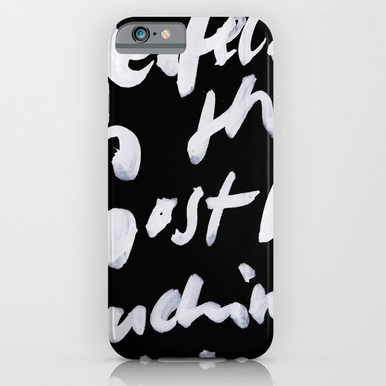 boring. iPhone & iPod Case