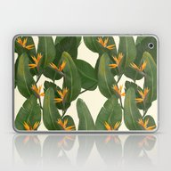 Laptop & iPad Skin featuring Tropical Floral by Laura Graves