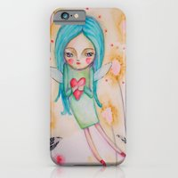 iPhone & iPod Case featuring Garden fairy by Atelier Susana Tavares