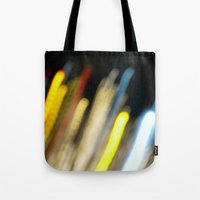 Electro Lights Tote Bag