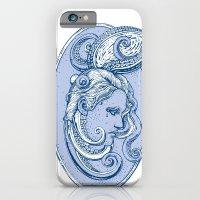 Octopus/girl In Blue iPhone 6 Slim Case