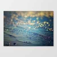 Beach Bokeh Canvas Print