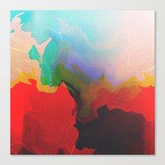 Glitch 14 Canvas Print
