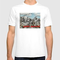 Kher Ridges Mens Fitted Tee White SMALL