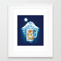 The Polar Beer Club Framed Art Print