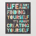Create Yourself Canvas Print
