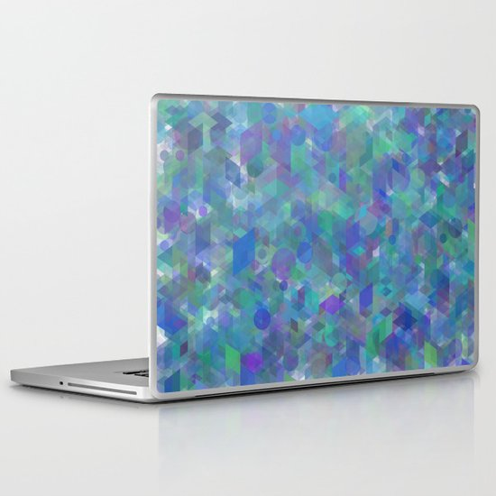 Panelscape + circles  - #1 society6 custom generation Laptop & iPad Skin