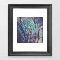 Paint Me Pink &Blue Framed Art Print