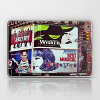 New York City Broadway Signs Laptop & iPad Skin