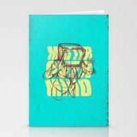 Matter Over Mind Stationery Cards