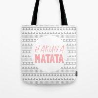Hakuna Matata II Tote Bag