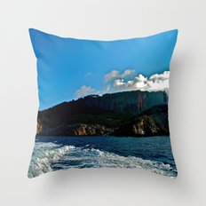 Lighthouse: Amalfi Coast, Italy Throw Pillow