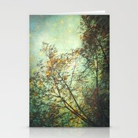 Magic In The Forest/ Gre… Stationery Cards