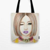 Minzy Gong (2NE1) Tote Bag