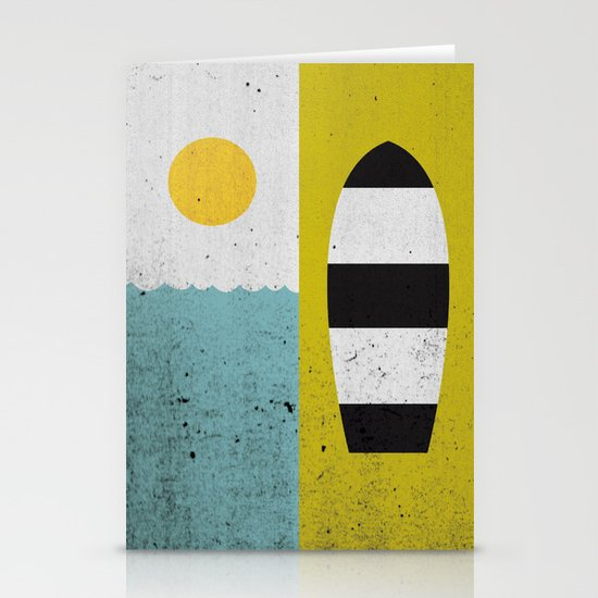 Sun & Board Stationery Card
