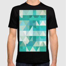 color story - poseidon Mens Fitted Tee SMALL Black