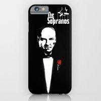 The Sopranos (The Godfather mashup) iPhone 6 Slim Case