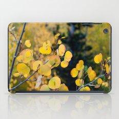 Golden Aspen iPad Case