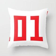 201Ё / New Year 2013 Throw Pillow