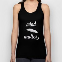 mind > matter Unisex Tank Top