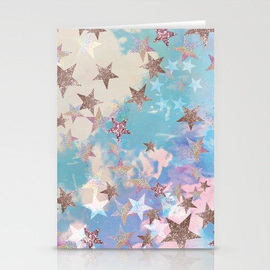 Starry Eyed Stationery Card