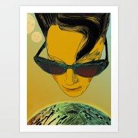 Kisses From Planet Uzu -… Art Print