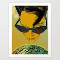 Kisses From Planet Uzu -… Art Print
