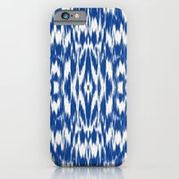 Ikat: Nautical Blue  iPhone 6 Slim Case