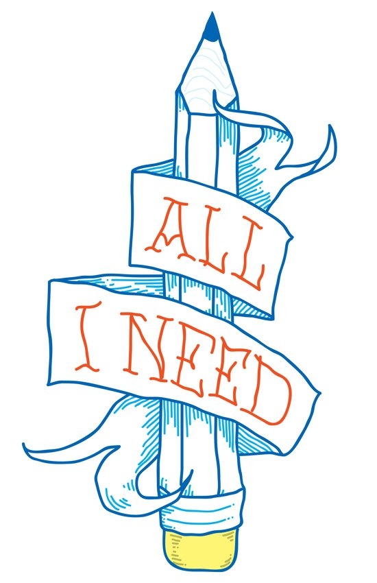 All I need Art Print