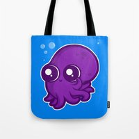 Super Cute Squid Tote Bag