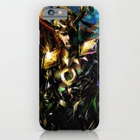 iPhone Cases featuring Loki by Vincent Vernacatola