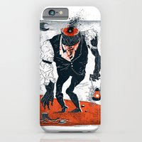 iPhone & iPod Case featuring The Haunted Conductor by Dushan Milic