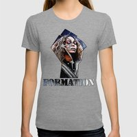 Formation Womens Fitted Tee Tri-Grey SMALL