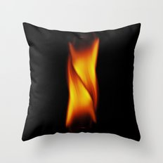 two flames Throw Pillow