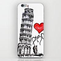 I love Pisa  iPhone & iPod Skin