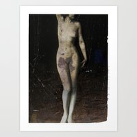nude... Art Print