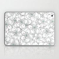 Cherry Blossom Mint Laptop & iPad Skin