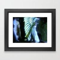 Winged Night Framed Art Print