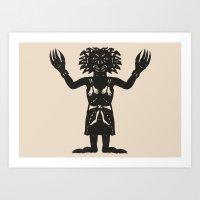 Black Annis  Art Print