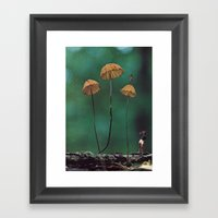 shrunken vision Framed Art Print