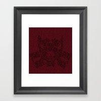 Malus Puer. Framed Art Print