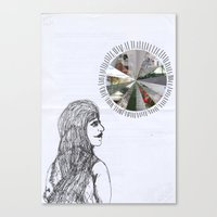 Mundane Full Force //without words// Canvas Print