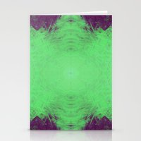 Alien Energy Stationery Cards