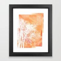 Autumn Silence Framed Art Print