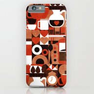 Coffee Story iPhone 6 Slim Case
