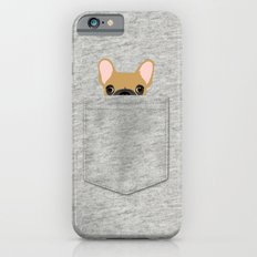 Pocket French Bulldog - Fawn iPhone 6 Slim Case