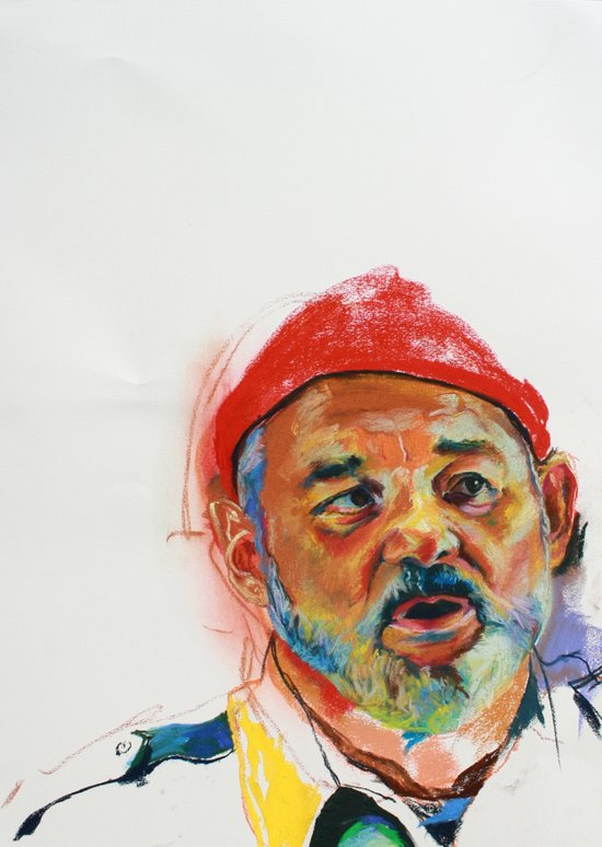 Bill Murray Portrait Art Print