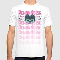 El Demon Mens Fitted Tee White SMALL