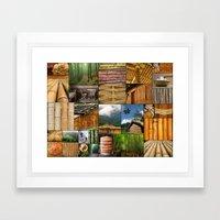 The Amazing World of Bamboo Framed Art Print